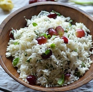 DBR rice salad